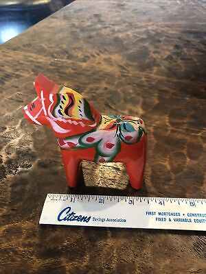 Vintage Nils Olsson Horse - made in Sweden - 50 Years Old+