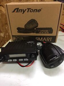 Cb smart radio ANYTONE  8 w 2 x radio