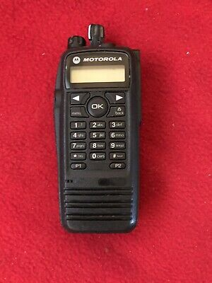 Motorola Xpr6580 Trbo Uhf Digital Two Way Radio Aah55uch9lb1an