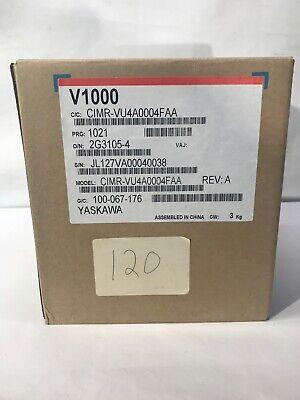 Yaskawa Cimr-vu4a0004faa Ac Drive V1000
