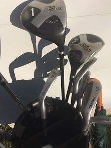 3 SETS OF GOLF CLUBS SPALDING WILSON SLAZENGER
