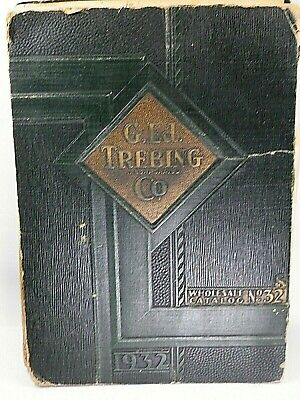 Vintage Jewelry Catalog 1932 Pens Watches China Silver Etc G. Ed. Trebing 643Pgs