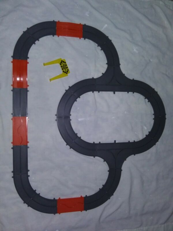 Ideal 1965 Motorific Torture Track Slot Car Road Race 1 Shock Sign Track ONLY
