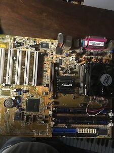 Asus Motherboard P4P800 SE, Dual Channel Memory and INTEL CPU
