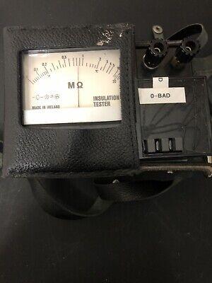 Greenlee 5778 Megohmmeter Insulation Resistance Tester