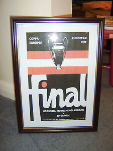 FRAMED-CANVAS-PRINT-OF-1977-EUROPEAN-CUP-FINAL-LIVERPOOL-V-BORUSSIA-MOENCHENGL