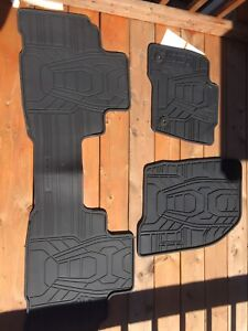 Brand New Ford Edge Factory Rubber Mats 2015 and Up