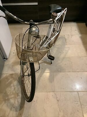 "ladies /girls bike with basket   made in Italy Vintage Peripoli Brevettato 18"""