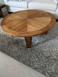 Coffee table round modern new design 100cm x 100cm x 41cm high
