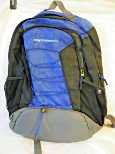 ebay blue and black BackPack ebay community New ebayana collectible