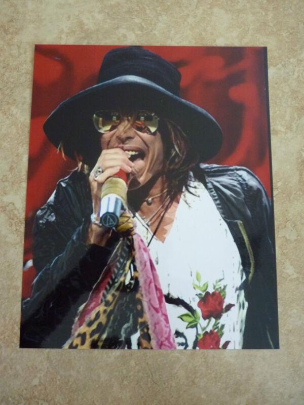 Aerosmith Steven Tyler Live Color 8x10 Promo Photo #2