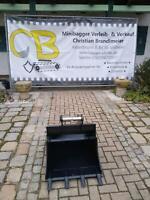 60cm Tieflöffel MS03 für 2,8 bis 4t Minibagger Bayern - Vilsheim Vorschau