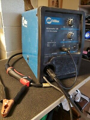 Miller Millermatic 135 115v Wire Welder Works Great