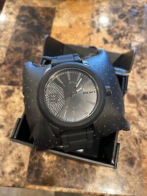 Diesel DZ1873 Rasp Black Dial Men's 50mm Black Stainless Band Watch New NWT