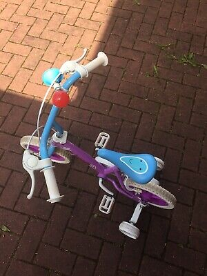 Girls 12 Inch Bike With removable Stablisers