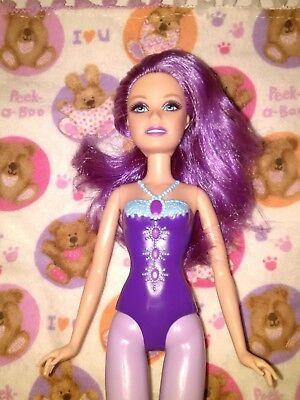 BARBIE A FAIRY SECRET TERESA Purple Hair Corset Fairytopia Fairytale Princess dl