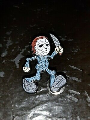 Halloween Michael Myers On The Run Enamel Pin Horror Movie Brand New in Bag