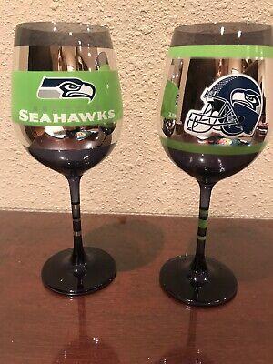 Seahawks Wine Glasses (Seahawks Wine Glasses)