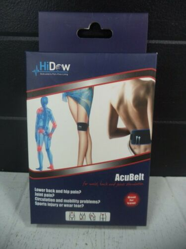 HiDow AcuBelt Waist Back Joints Stimulation Pain Relief TENS Accessory *NEW*