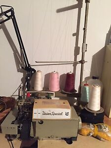 Industrial sewing machines for sale.