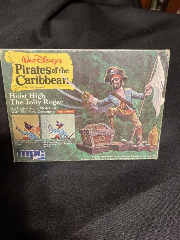 Walt Disney 1972 Pirates of the Caribbean MPC Hoist High the Jolly Roger