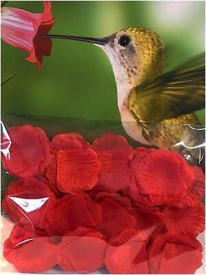Silk Rose Petals (100 pcs rose silk  flower petals wedding party Valentine's Day ( USA)