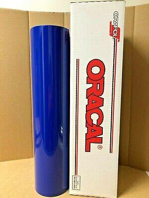 Oracal 651 1 Roll 24 X 50yd 150ft King Blue 049 Gloss Sign Vinyl