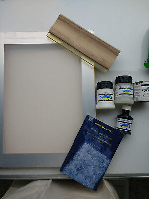screen printing kit unused with manual