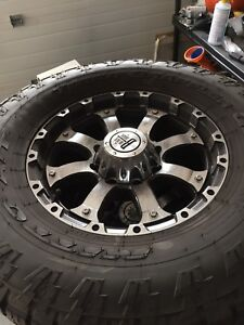 Ford F-350 wheels and tires