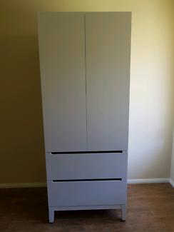 Ikea Nordli soft close wardrobe