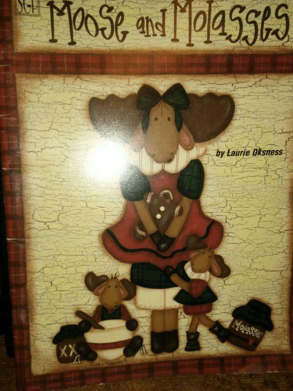 Moose And Molasses Painting Pattern Book