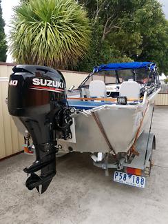 Quintrex 420 Estuary Angeler, Engine Suzuki 40HP, 4 Stroke