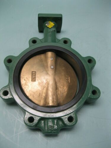 "8"" Crane Center Line Series 225 Lug Butterfly Valve DI/Al Br/EPDM NEW P27 (2524)"