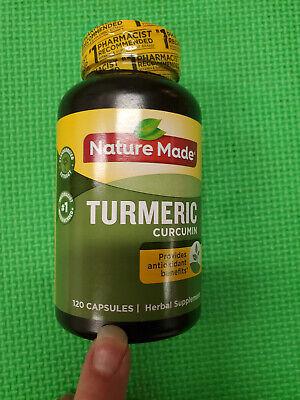 Nature Made Turmeric Curcumin 120 Capsules exp-10/2021