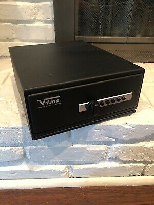 V-Line Slide-Away Portable Safe, 2 Gun Cap., 12