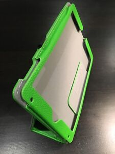 Green iPad 4 Case leather