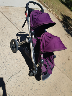 Baby jogger city select double - purple
