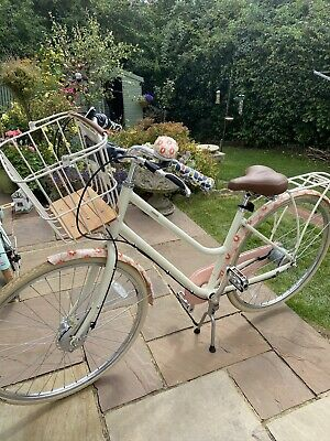 Ladies Orla Kiely Bike Pink Tall Flower