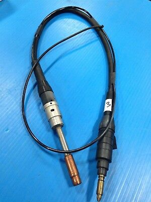Tweco Cablehoz Welder Gun And Hose With El24ct-62h Nozzle Tip Nice Used O3