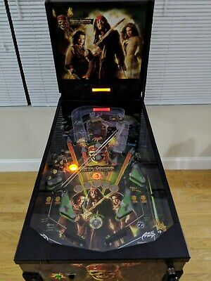 ZIZZLE Pirates of the Caribbean Dead Man's Chest Pinball Machine - FREE SHIPPING