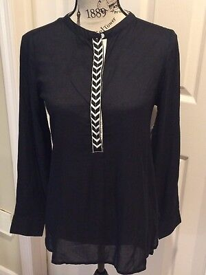 OLD NAVY BLACK Long Sleeve PULLOVER SHIRT. Size:XS- OPEN2 OFFERS