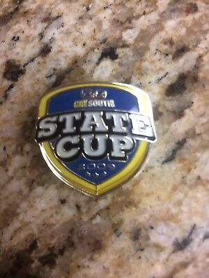 Cal South State Cup 2009 Soccer Pin New