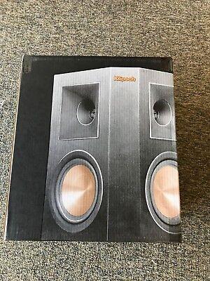 Klipsch Rp 250S Rear Black Speakers  Sold As Each