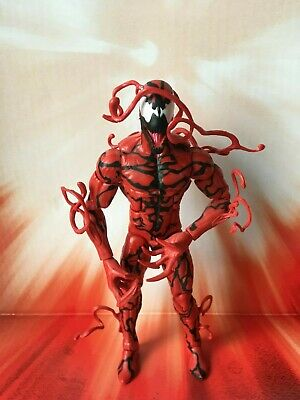 Marvel Legends Hasbro Ultimate Goblin BAF Series Carnage Action Figure (C)