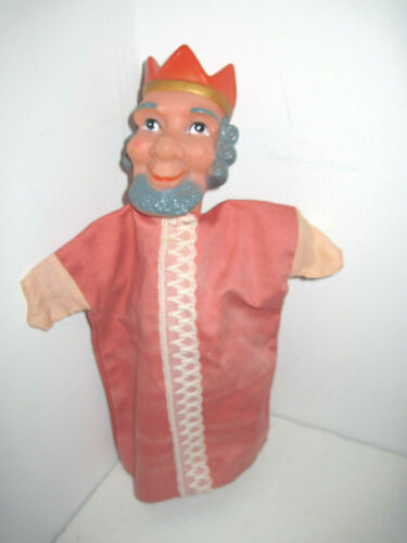 Vintage Mr Mister Rogers Neighborhood King Friday Hand Puppet 1960