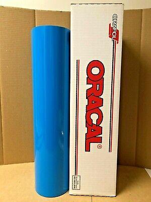 Oracal 651 1 Roll 24 X 10yd 30ft Light Blue 053 Gloss Sign Vinyl