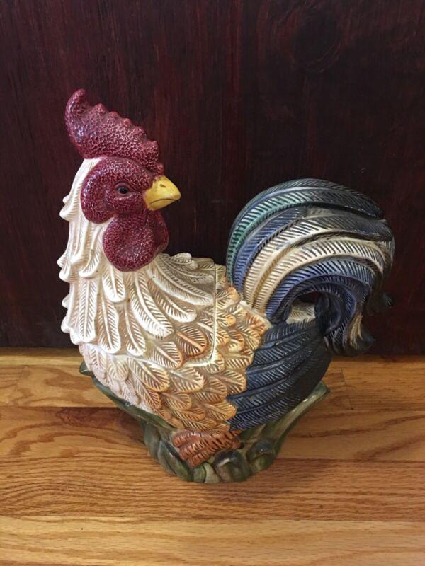 Vintage Rooster Cookie Jar Jay Imports