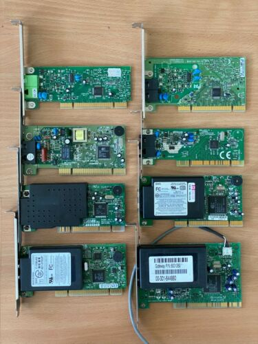 Internal PCI 56k Modems - Lot of 8