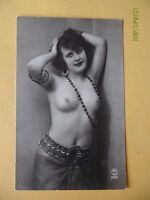Original French 1910's-1920's Nude Erotic Postcard Pretty Lady Close Up 120 -  - ebay.co.uk