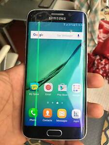 SAMSUNG GALAXY S6 EDGE 32GB CRACKED SCREEN Klemzig Port Adelaide Area Preview
